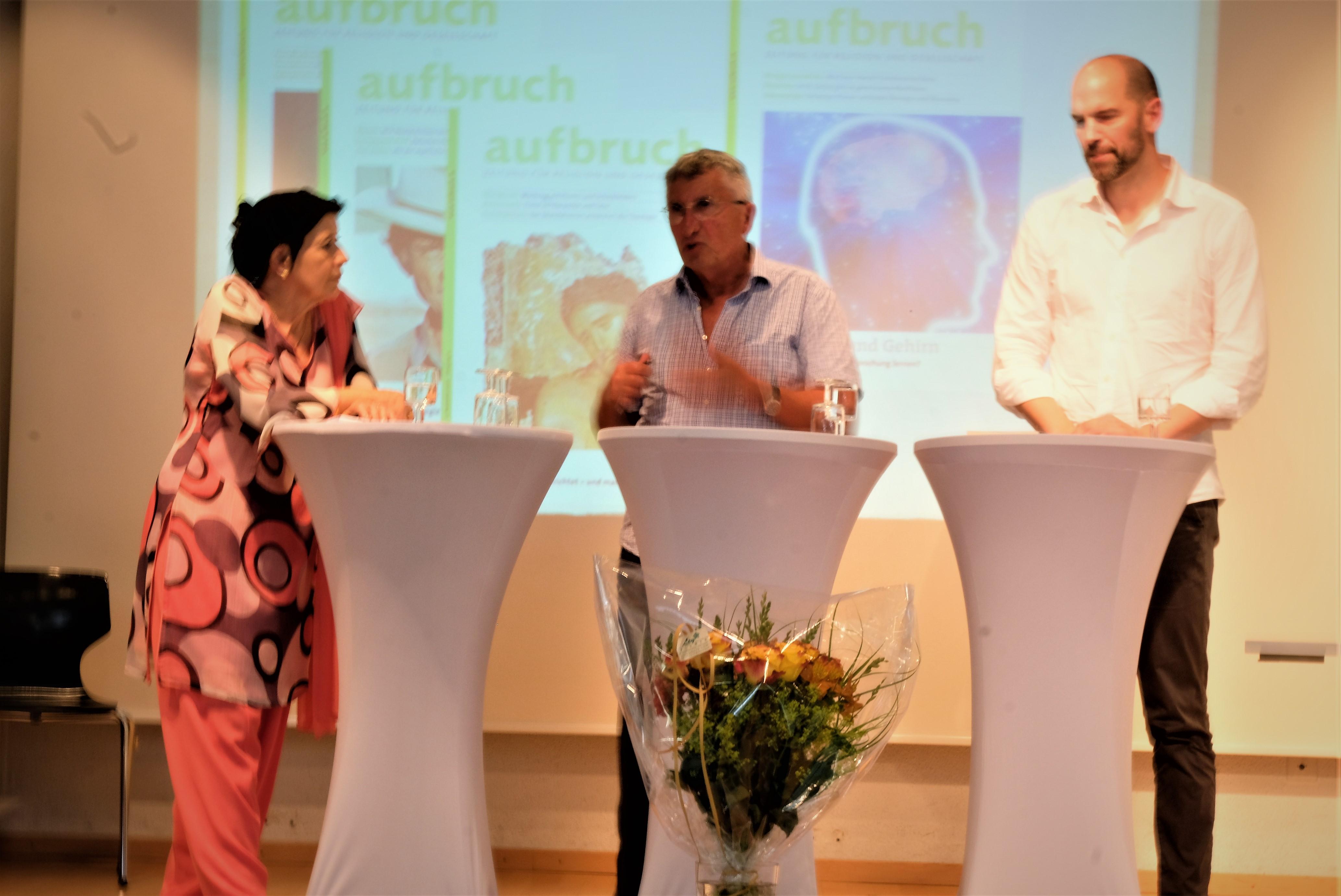 30 Jahre aufbruch Podium Lenzin Bühler Kirchschläger