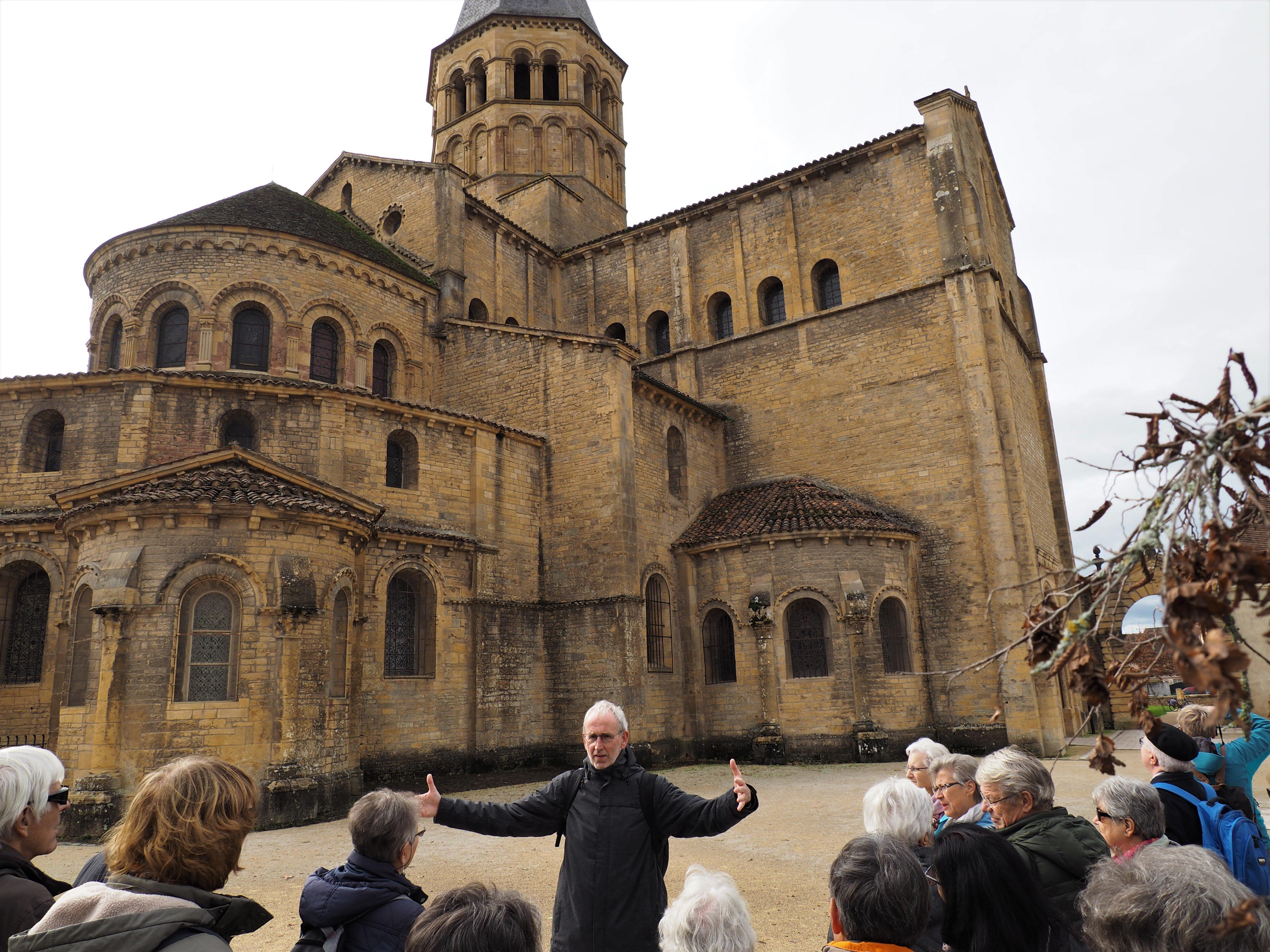 Leserreise Burgund Basilique du Sacré-Coeur de Jésus in Paray-le-Monial (2)