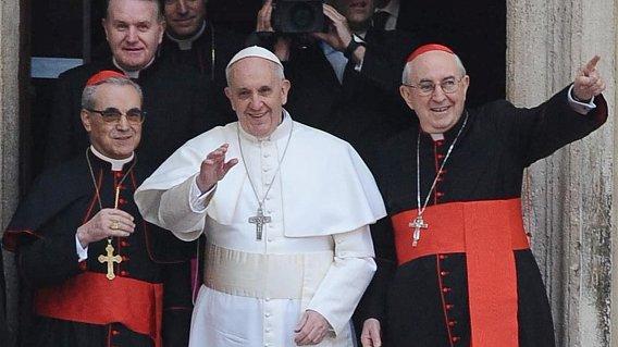 Papst u Kardinäle