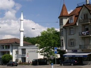 Viele muslimische Jugendgruppen sind an eine Moschee angegliedert - vergleichbar mit christlichen Jugendgruppen.  Auf dem Bild eine Moschee in Zürich. (Foto: PD)